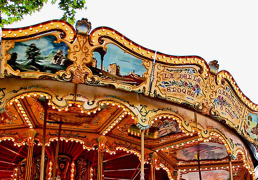 Carousel Belle by Christine Burdine