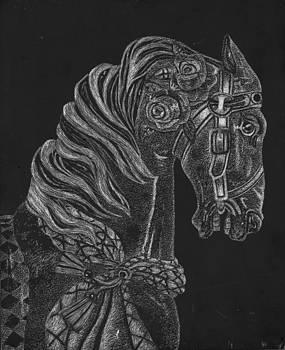Carousel Horse by Chelsea Blair