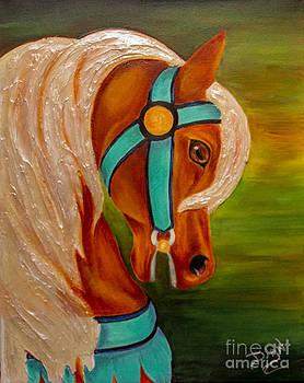 Carousel Horse Fantasy by Dian Paura-Chellis
