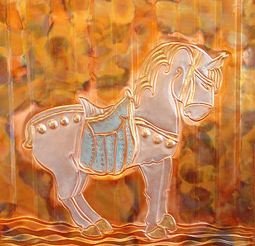 Carousel Horse by Sharon Orella