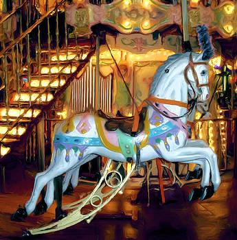 Carousel Horse by Thomas  MacPherson Jr