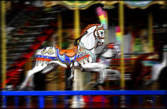 Carousel Horse by Tom Bell