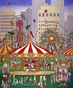 Linda Mears - Carousel in City Park