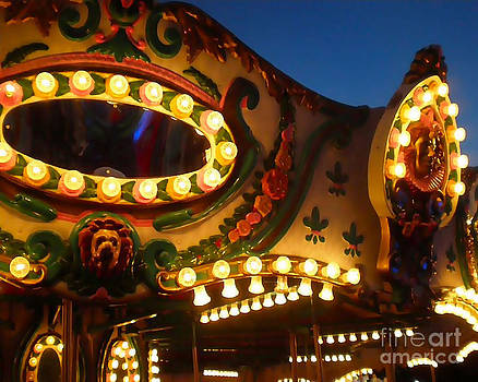 Carousel Lights by JJ McLerran