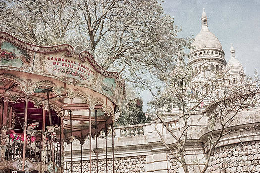 Carousel Sacre Coeur by Stacey Granger