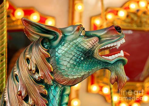 Carousel Seahorse by Sabrina L Ryan