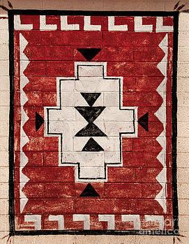 Mae Wertz - American Indian Carpet Design