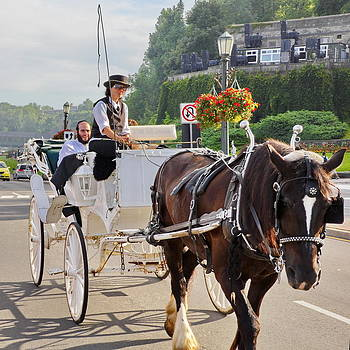 Simply  Photos - Carriage ride down River Road