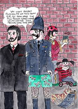 Cartoons by Alan Wilkinson