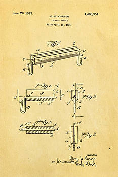 Ian Monk - Carver Package Handle Patent Art 1923