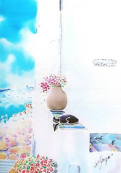 Casa blanca by Hisayo Ohta