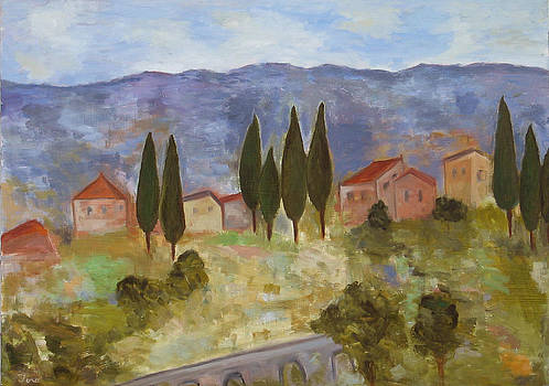 Casas de Segovia by Trish Toro