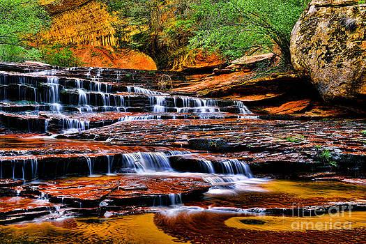 Cascade Falls by Peter Dang