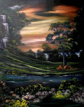 Cascades from Heaven by Cynthia Adams