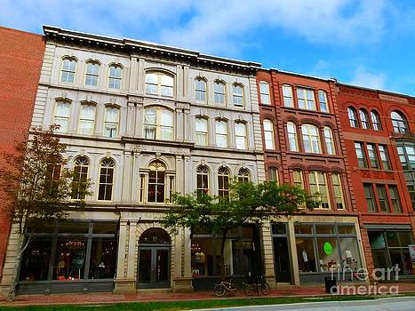 Christine Stack - Casco Bank Block on Middle Street in Portland Maine