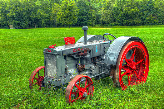 Case Tractor by David Simons