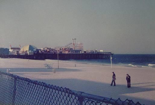 Casino Pier Seaside Heights NJ by Joann Renner