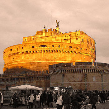 Castel Sant Angelo by Willie Chea