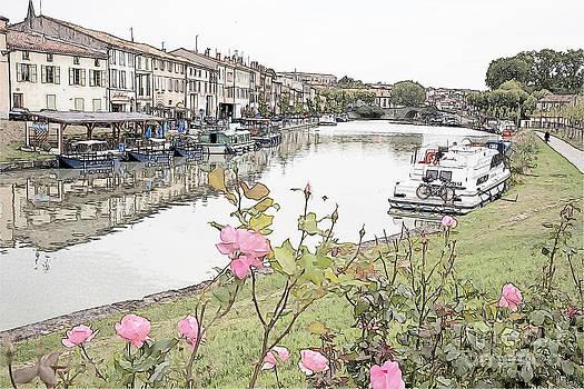 Heiko Koehrer-Wagner - Castelnaudary at the Canal du Midi