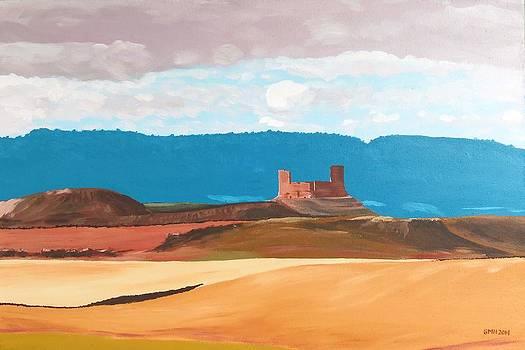 Castillo de Montuenga by Glenn Harden