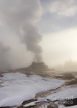 Landscape-Castle Geyser by Feryal Faye Berber