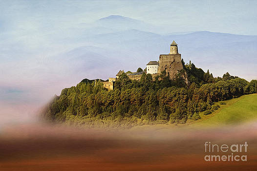 Castle in the air IV. - Lubovna Castle by Martin Dzurjanik