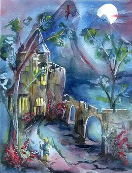Castle in the Hills III by Rosemarie Franco-Bell