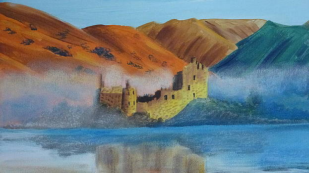 Castle in the Mist by Patricia Frankel