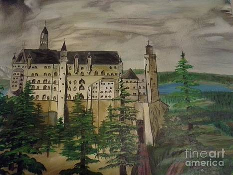 Castle Neuschwanstein by Christopher Carter