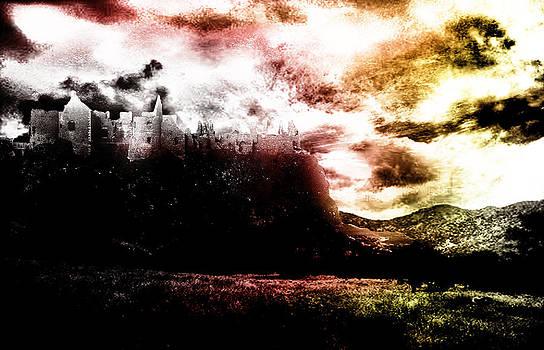 Castle on the Cliffs by Amanda Struz