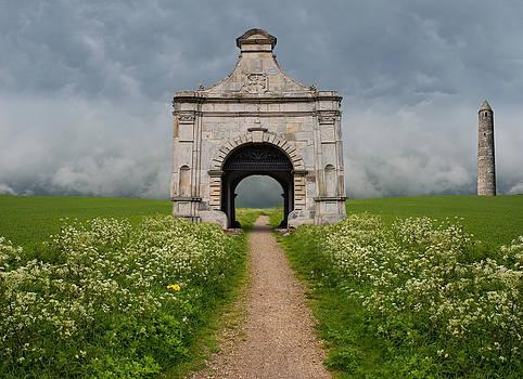 Castle Path by Cheryl Heffner
