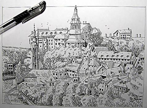 Castle Sketch by Timothy Bettcher