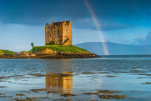 David Ross - Castle Stalker Rainbow
