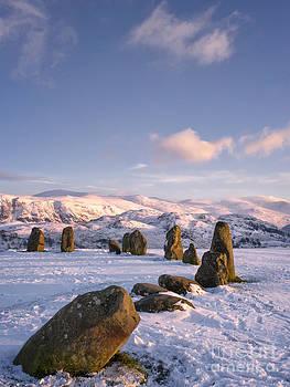 Castlerigg Stone Circle Winter No1 by George Hodlin