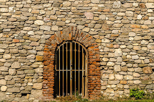 Castles door. by Slavica Koceva