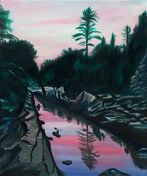 Castor River Missouri by Phillip Compton