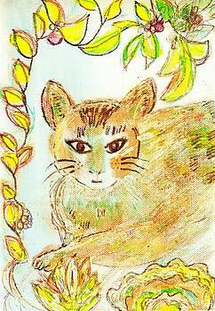 Anne-Elizabeth Whiteway - Casual Cat work in progress