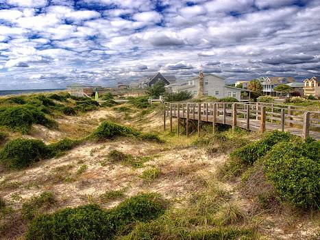 Caswell Beach Dunes by Don Margulis
