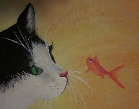 Cherie Sexsmith - Cat and Fish