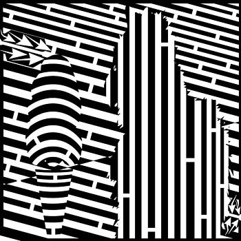 Cat and The Ice Cream Cone Maze by Yonatan Frimer Maze Artist