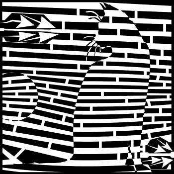 Cat Ball Maze by Amazing Mazes