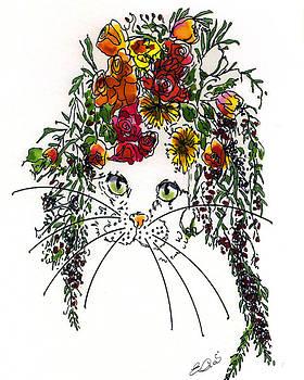 Cat Bouquet II by Elia Peters