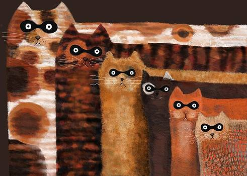 Cat Burglars by Catherine Swenson