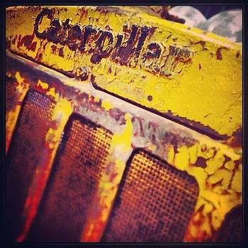 #cat #caterpillar #rustporn by A Loving