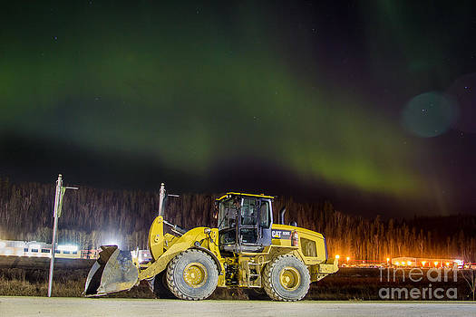 Alanna DPhoto - CAT Equipment Northern Lights