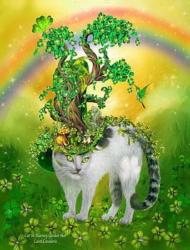 Carol Cavalaris - Cat In Blarney Garden Hat