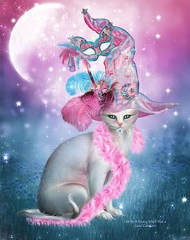 Carol Cavalaris - Cat In Fancy Witch Hat 4