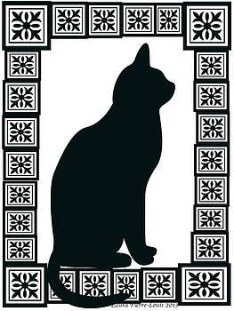 Laura Pierre-Louis - Cat in the Window