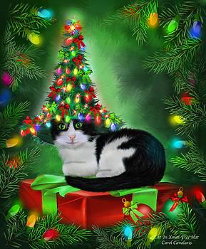 Carol Cavalaris - Cat In Xmas Tree Hat