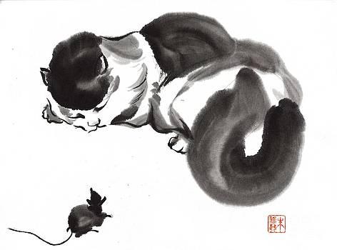 Cat Nap by Yolanda Koh